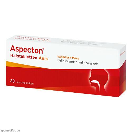 Aspecton Halstabletten, 30 ST, Krewel Meuselbach GmbH
