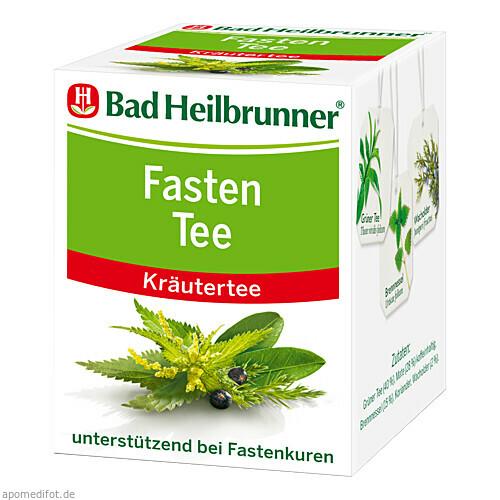 BAD HEILBR FASTENTEE, 8X1.8 G, Bad Heilbrunner Naturheilmittel GmbH & Co. KG