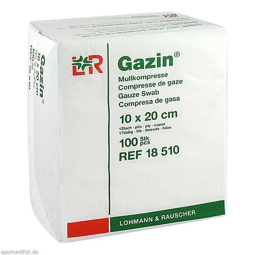 GAZIN Kompresse 10x20cm 12fach OP, 100 ST, Lohmann & Rauscher GmbH & Co. KG
