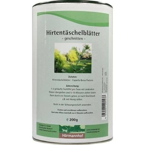 Hirtentäschelblätter, 200 G, Medesign I. C. GmbH