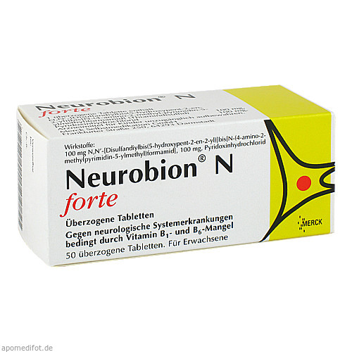 NEUROBION N FORTE, 50 ST, Merck Selbstmedikation GmbH