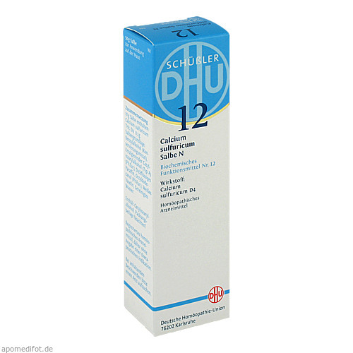 BIOCHEMIE DHU 12 CALCIUM SULFURICUM N D 4, 50 G, Dhu-Arzneimittel GmbH & Co. KG
