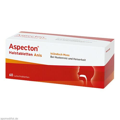Aspecton Halstabletten, 60 ST, Krewel Meuselbach GmbH