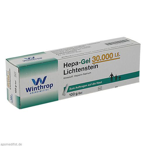 Hepa-Gel 30000 I.E. Lichtenstein, 100 G, Zentiva Pharma GmbH