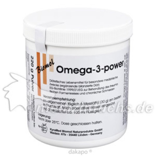 Omega-3-power, 220 G, Kyramed Biomol Naturprodukte GmbH