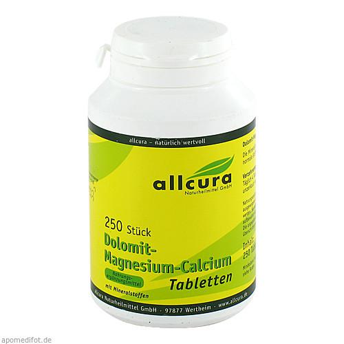 DOLOMIT MAGNESIUM CALCIUM, 250 ST, Allcura Naturheilmittel GmbH