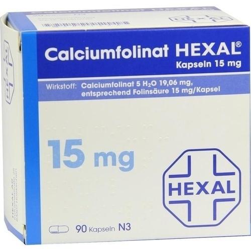 Calciumfolinat 15mg Hexal, 90 ST, HEXAL AG