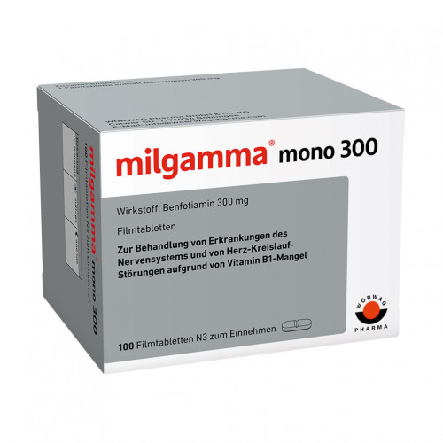 milgamma mono 300, 100 ST, Wörwag Pharma GmbH & Co. KG