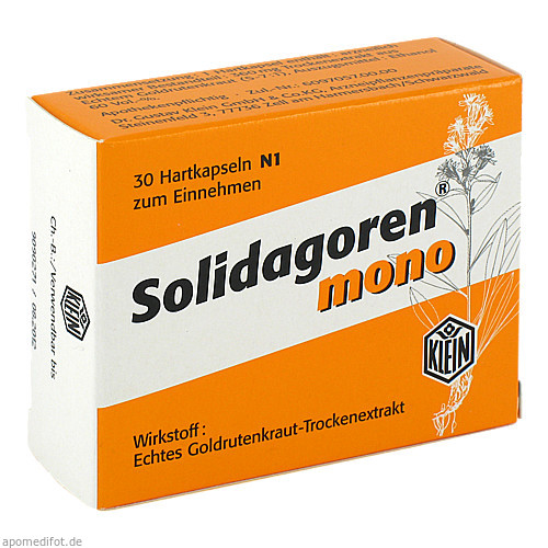 Solidagoren mono, 30 ST, Dr. Gustav Klein GmbH & Co. KG
