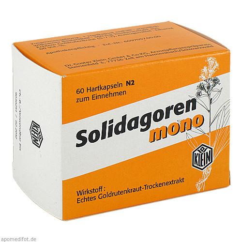 Solidagoren mono, 60 ST, Dr. Gustav Klein GmbH & Co. KG