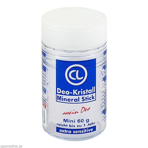 Deo Kristall-Mineral Stick Reise Grösse, 60 G, Allpharm Vertriebs GmbH