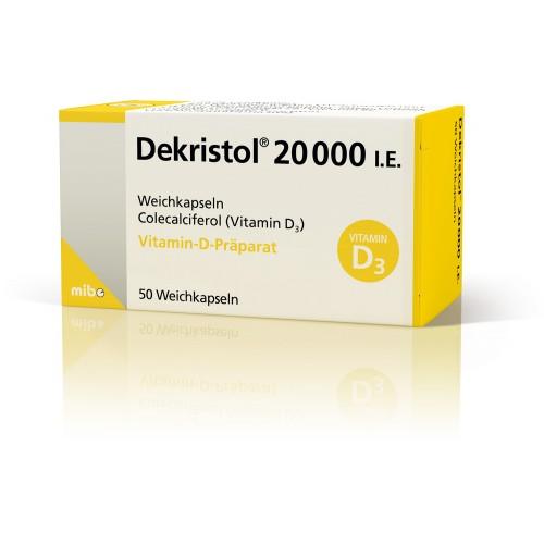 DEKRISTOL 20000 I.E., 50 ST, Mibe GmbH Arzneimittel