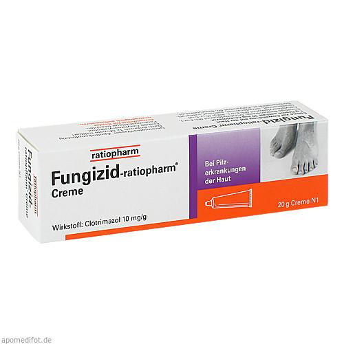 Fungizid-ratiopharm Creme, 20 G, ratiopharm GmbH
