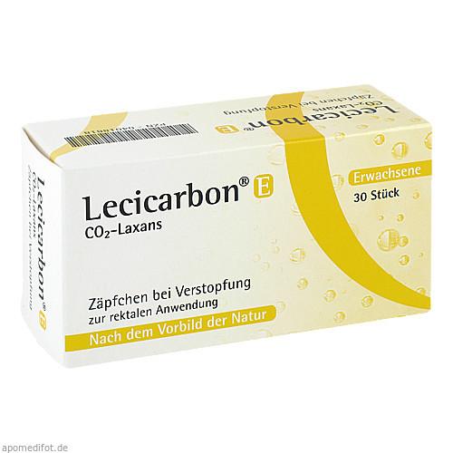 Lecicarbon E CO2-Laxans, 30 ST, athenstaedt GmbH & Co KG