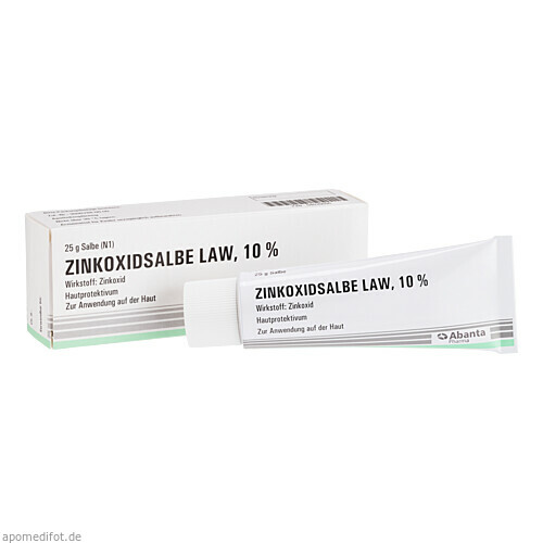 ZINKOXIDSALBE LAW, 25 G, Abanta Pharma GmbH