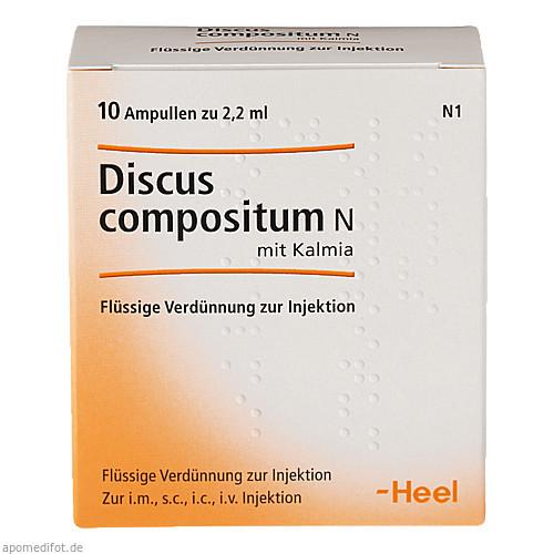 Discus compositum N mit Kalmia, 10 ST, Biologische Heilmittel Heel GmbH