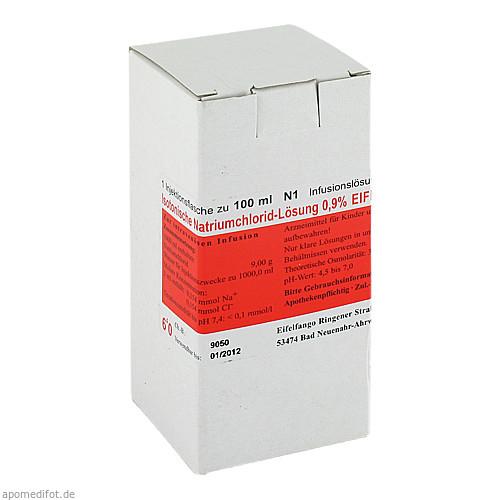 Isotonische Natriumchlorid-Lösung 0.9% EIFELFANGO, 100 ML, Eifelfango GmbH & Co. KG