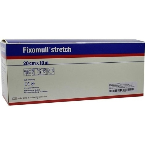 FIXOMULL stretch 20 cmx10 m, 1 ST, Bios Medical Services GmbH