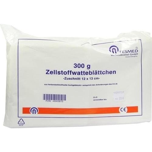 ZELLWA BLAETTCHEN HOCHGEBLEICHT CHLORFR 12X13, 300 G, Fesmed Verbandmittel GmbH