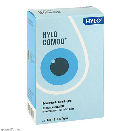 Hylo-Comod, 2X10 ML, Ursapharm Arzneimittel GmbH