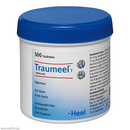 TRAUMEEL T ad us.vet.Tabletten, 500 ST, Biologische Heilmittel Heel GmbH