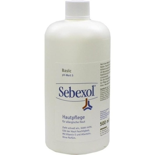 SEBEXOL BASIC Rezepturgrundlage, 500 ML, DEVESA Dr.Reingraber GmbH & Co. KG