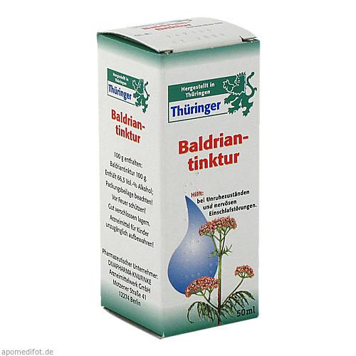 THUERINGER BALDRIANTINKTUR, 50 ML, Cheplapharm Arzneimittel GmbH