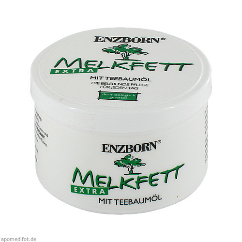Melkfett extra mit Teebaumöl Enzborn, 250 ML, Ferdinand Eimermacher GmbH & Co. KG