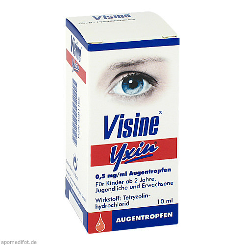 Visine Yxin, 10 ML, Johnson&Johnson Gmbh-Chc