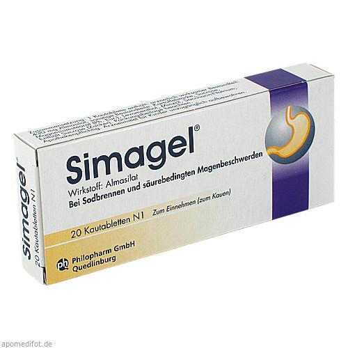 SIMAGEL, 20 ST, Mibe GmbH Arzneimittel