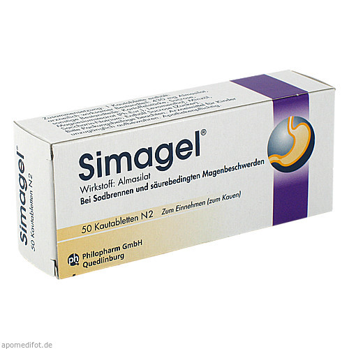 SIMAGEL, 50 ST, Mibe GmbH Arzneimittel