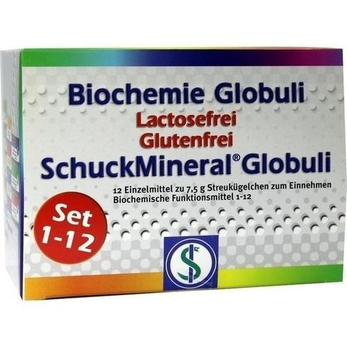 Biochemie Globuli Set 1-12 Lactosefrei, 12X7.5 G, Schuck GmbH Arzneimittelfabrik