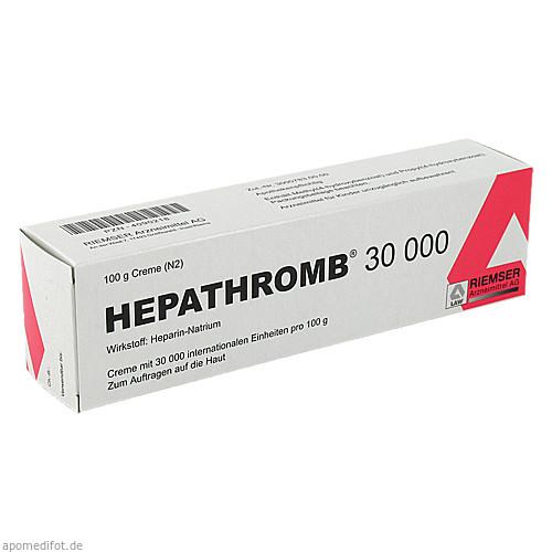 HEPATHROMB 30000, 100 G, Riemser Pharma GmbH