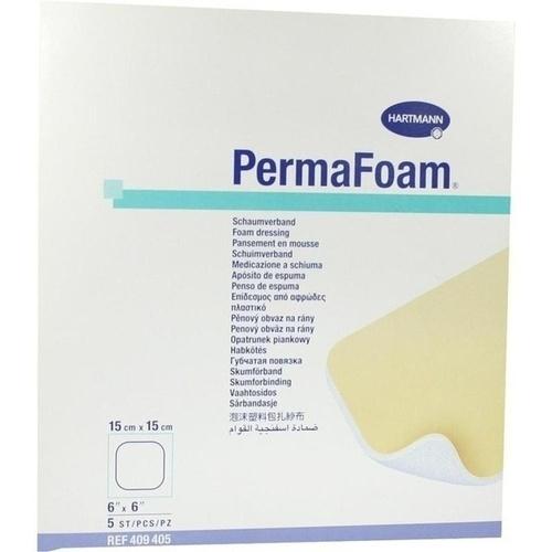 Perma Foam Schaumverband 15x15cm, 5 ST, Paul Hartmann AG