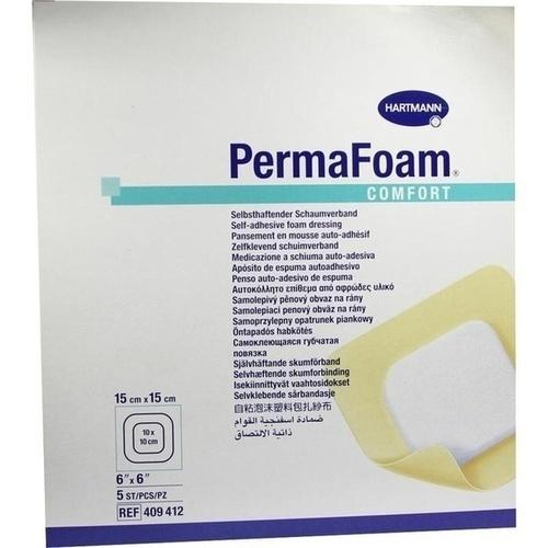 Perma Foam Comfort Schaumverband 15x15cm, 5 ST, Paul Hartmann AG