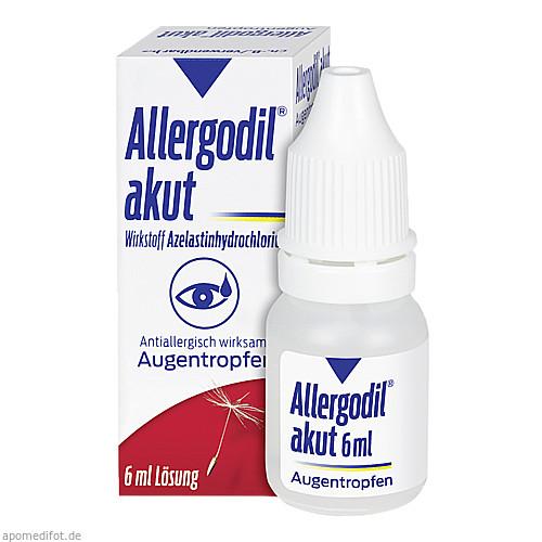 Allergodil akut Augentropfen, 6 ML, MEDA Pharma GmbH & Co.KG
