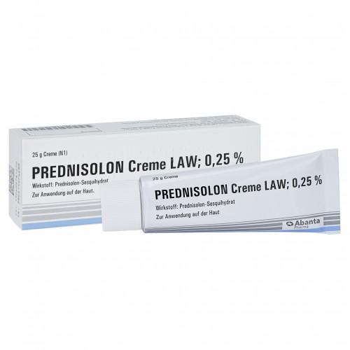 PREDNISOLON CREME LAW, 25 G, Abanta Pharma GmbH