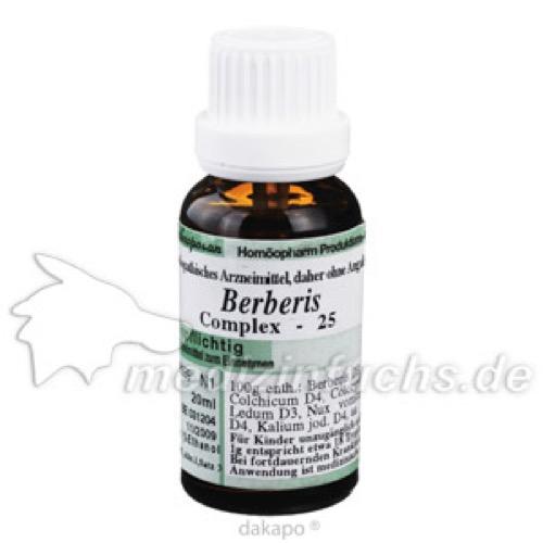 BERBERIS 25 RHEUMATOPLEX, 20 ML, Anthroposan Homöopharm Produktionsgesellschaft mbH