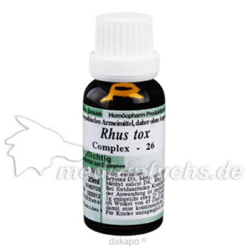 RHUS TOX 26 RHEUMATOPLEX, 20 ML, Anthroposan Homöopharm Produktionsgesellschaft mbH