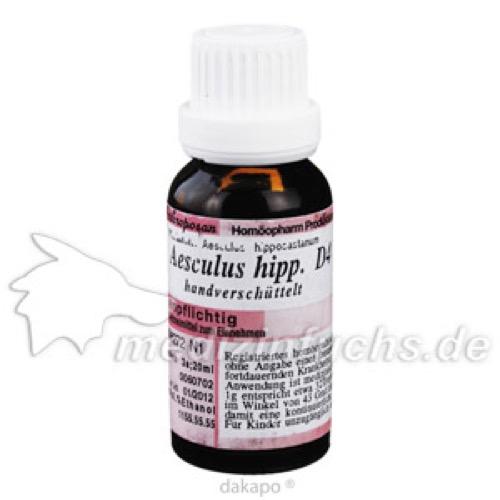 AESCULUS HIPPOCA D 4, 20 ML, Anthroposan Homöopharm Produktionsgesellschaft mbH
