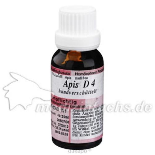 APIS D 4, 20 ML, Anthroposan Homöopharm Produktionsgesellschaft mbH