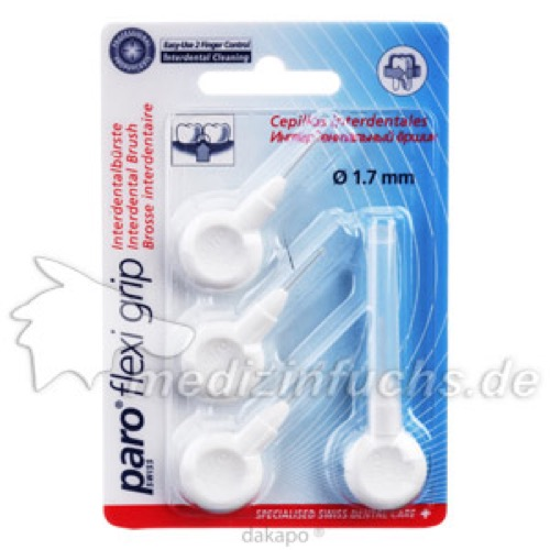 Paro Isola Flexi Grip Interdentalbürste 1.7mm, 4 ST, Profimed GmbH