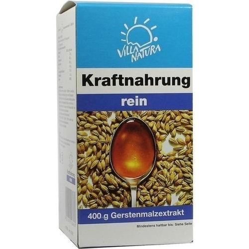 Villa Natura Kraftnahrung Biomalt rein, 400 G, Medphano Arzneimittel GmbH