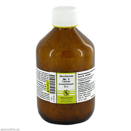 Biochemie Nestmann Nr.2 Calcium phosphoricum D12, 1000 ST, Nestmann Pharma GmbH