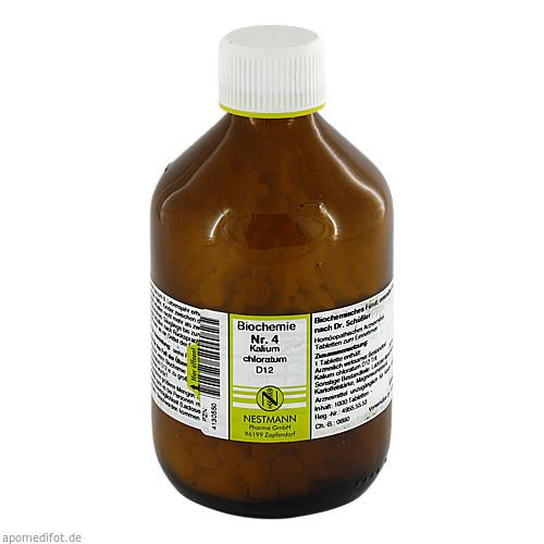 Biochemie Nestmann Nr.4 Kalium chloratum D12, 1000 ST, Nestmann Pharma GmbH