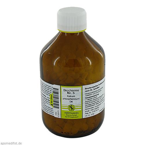 Biochemie Nestmann Nr.5 Kalium phosphoricum D 6, 1000 ST, Nestmann Pharma GmbH