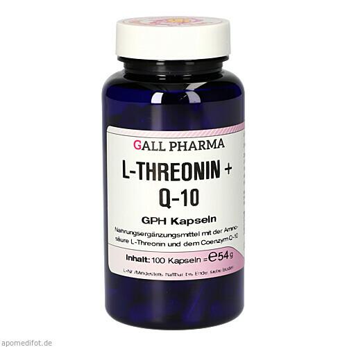 L-THREONIN + Q-10 GPH, 100 ST, Hecht-Pharma GmbH