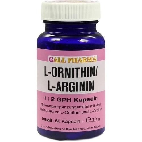 L-ORNITHIN/L-ARGININ 1:2 GPH, 60 ST, Hecht-Pharma GmbH