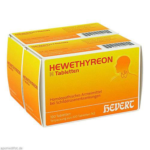 HEWETHYREON N Tabletten, 200 ST, Hevert Arzneimittel GmbH & Co. KG