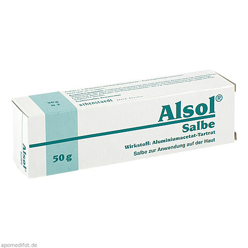 ALSOL Salbe, 50 G, Athenstaedt GmbH & Co. KG